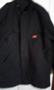 Mens Vintage Dickies Black Duck Coat Never Worn Size Medium