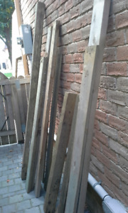FREE WOOD PLANKS/CEMENT STEP