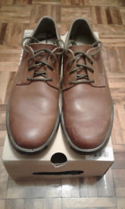 Men's AMERICAN EAGLE Leather Dress Shoes (Brown)