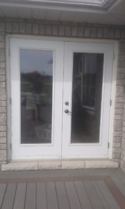 Exterior Double Outswing Door