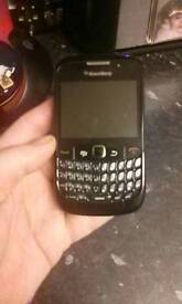 BlackBerry curve phone fully functional