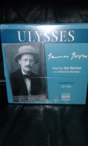 Audiobook - James Joyce Ulysses 22 CDs New in Wrapper