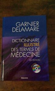 Dictionnaire illustré des termes de médecine (neuf).