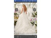 Ivory Morilee Wedding Dress Style 2805 BNWT Size 12 With Hoop. This Season!
