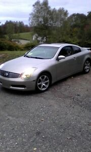2003 Infiniti G35 Coupe sell or open to trades ???
