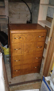 Art Deco waterfall dresser