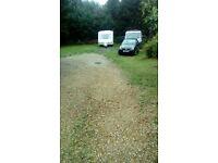 Parking spaces - caravan,boat,camper,van etc