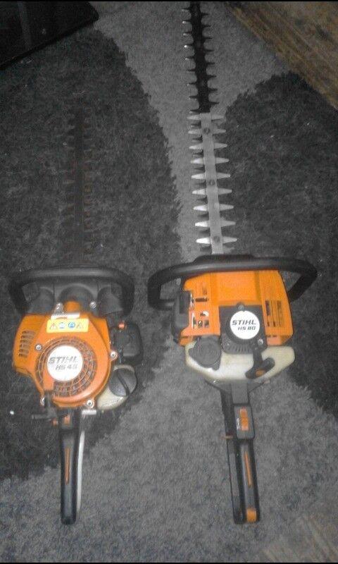 Stihl hs45 and hs80