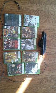 Xbox 360 games whith kinnect