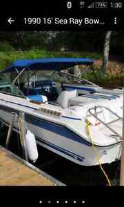 1990 Searay bowrider fish and ski- Priced to go before winter