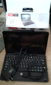 """Used RCA Viking Pro tablet 10"""" + Detach. Keyboard & 2 Chargers"""
