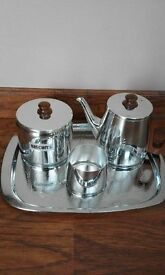 Sona Stainless Steel Tea Set