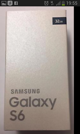 Samsung s6 brand new in box