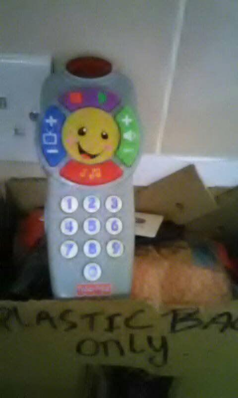 Fisher price talking remote