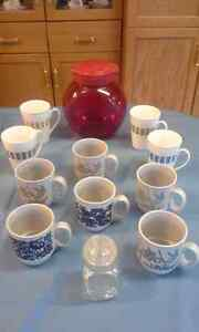 10 mugs and containers Strathcona County Edmonton Area image 1