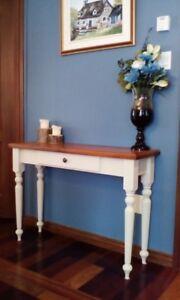 Ensemble table et chaise,table console,meuble d entrée,bureau