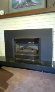 Direct Vent Natural Gas Insert