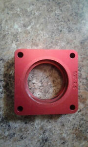 Jeep yj or tj 2.5  throttle body spacer