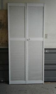 """36"""" Louvered Bi-Fold Door"""