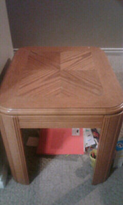 Wooden square table/desk