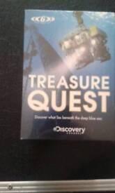 Treasure quest set 6 DVD,S unopened £7