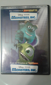 Dvd Disney PIXAR 'Monstres, Inc