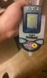 Cyber pinball game