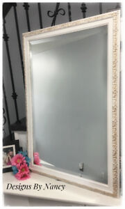 "Hand Painted Royal York Hotel Bevel Cut Mirrors!  29"" x 42"""