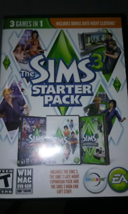 Pc CD THE Sims Starter pack