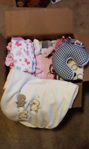 NB- 0-3 months girl clothes