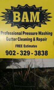 GUTTERS - CLEANED, REPAIRED AND REPLACED  INSERTS AVAILABLE