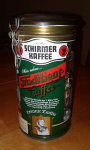 Schirmer Kaffee Tin Can – West Germany 1980's