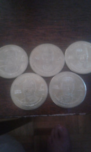 2002 Team Canada Cola-Cola Olympic Coins