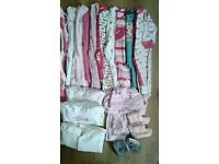 Clothes 3-6 for girls .