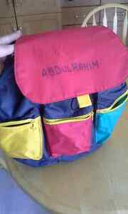 young child back pack Strathcona County Edmonton Area image 1