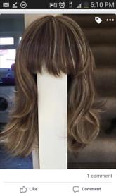 ladies wig never worn