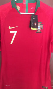 Ronaldo Portugal WC 2018 player version jersey