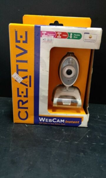 Creative instant webcam model VF0040 for sale @ $20 each