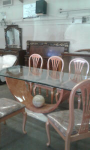 Marble Dining Room Set
