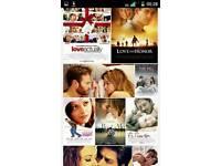 Love Films , Digital DVD Catalogue, HD Films , 800+ HD Films, 4k, DVD ,TV, Flatscreen