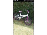 Girls 20'' booda bike