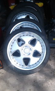 Keskin KT5 wheels and tires