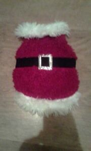 Christmas outfit for small dog