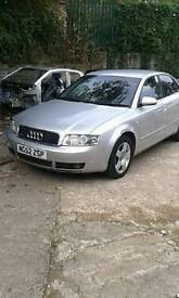 2002 AUDI A4 2.5 TDI V6 FOR SALE SPARES OR REPAIR