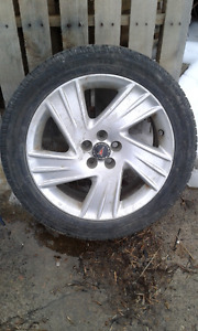 215/50 R17 tires on rims