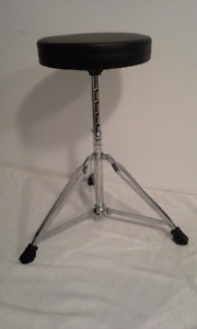Banc de Musique Tabouret adulte NEUF. (Drum,Cymbale, Cymbal)