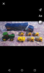 Tractor set and tractor trailer
