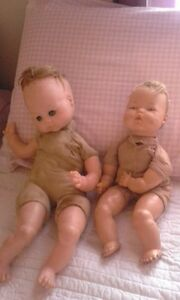 Two Antique Baby Dolls