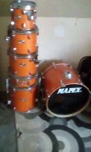 6pc Mapex M-Series kit with Tom mounts