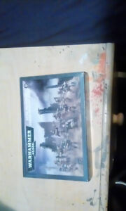 Warhammer 40K Cadian Infantry Squad and Scenery